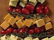 Cómo servir queso mesa navidad