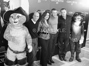 Salma Hayek Antonio Banderas, primera rueda prensa/photocall Gato Botas Hotel Villamagna. VIDEO