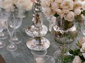 Decoración mesas boda: mesa romántica