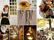 Boda otoño color mostaza