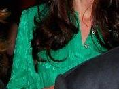 Consigue vestido verde Mulberry Kate Middleton