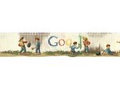 Google Doodle honor Mark Twain