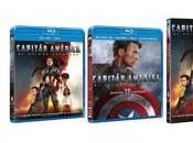 Capitán América, venta Blu-ray diciembre