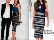 Rosie Hungtinton-Whiteley, Christopher Bailey Alexa Chung inaguran París nueva tienda Burberry