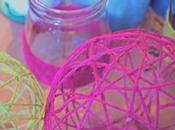 DIY. Adornos lana/Yarn ornaments