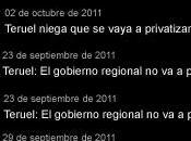 Teruel privatizaciones