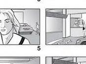 Some storyboards advertisement