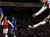 Arsenal gana Everton golazo Persie pase Song
