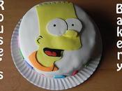 Encargo: Tarta cumpleañera Bart Simpson