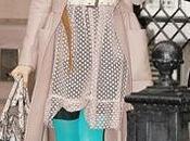 Sarah Jessica Parker look medias colores