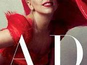 Lady Gaga, mujer rojo portada Vanity Fair Annie Leibovitz