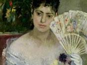 Exposición Berthe Morisot Thyssen: pincelada larga mujer negro