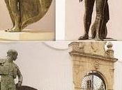 """Ronda (Málaga): Monumentos toreros rondeños niño Palma"""" Antonio Ordoñez"""