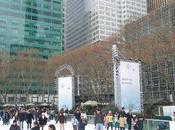 única pista hielo GRATIS Nueva York.
