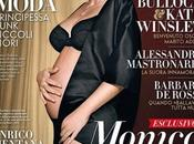 Monica Belluci embarazada Vanity Fair Italia