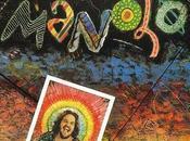 """Manolo"" (1979) gran percusionista portoriqueño Manolo Badrena."