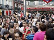Asedio barrio Chueca Madrid