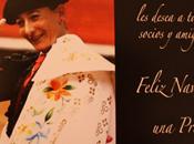 Felicitación peña taurina Mari Vega