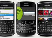Spotify llegado BlackBerry