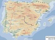 1855 2011: evolución ferroviaria española