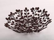 ideas para regalar: centro mesa diseño hojas