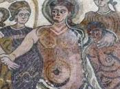 Roban destrozan Mosaico Baco Baños Valdearados