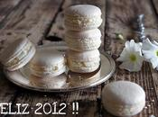 Macarons vainilla... Feliz 2012