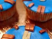 Cupcakes turrón jijona para nochevieja