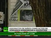 Asesinatos niños Argentina, trágica manera resolver problemas adultos