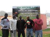 Senegal viene aprender lucha canaria
