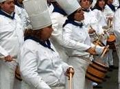 Sebastián fiestas: Tamborrada 2012