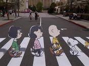Charile Brown Snoopy, parodia Abbey Road
