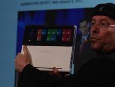 Intel muestra Nikiski, ultrabook touchpad transparente