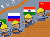 países BRIC pasan EE.UU. Europa crecimiento económico