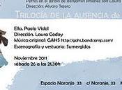 Trilogía ausencia Teatro sumergido