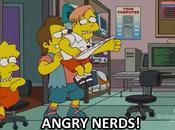 Angry Birds Nerds Simpson
