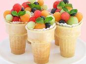 Tres ideas para servir fruta