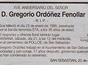 Gregorio Ordoñez, asesinado hace 17años