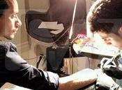 Marc Anthony tatuó imagen Estatua Libertad