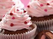 Brownie-cupcakes Valentin