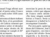 herederos dictador genocida Franco homenajean fascista Manuel Fraga caza juez Garzón
