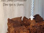 Chocolate Quake Cake: Primer Aniversario