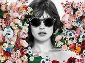 Stella McCartney presenta campaña primavera verano 2012 collage flores