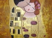 beso (¿G. Klimt?)