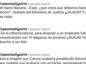 twitter libegggal Esperanza Aguirre
