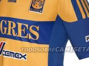 Nueva camiseta Adidas Tigres UANL 2012