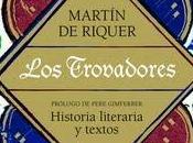 Martín Riquer. trovadores
