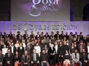 XXVI Edición Premios Goya, febrero.