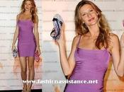 "Gisele Bündchen, Hervé Léger, presenta París ""Ipanema Footwear Collection"""