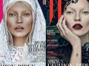 Kate Moss, bien mal, impactante Magazine, Marzo 2012